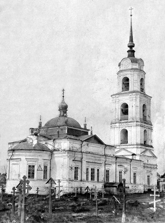 Церковь Воскресения Христова, Тихоново