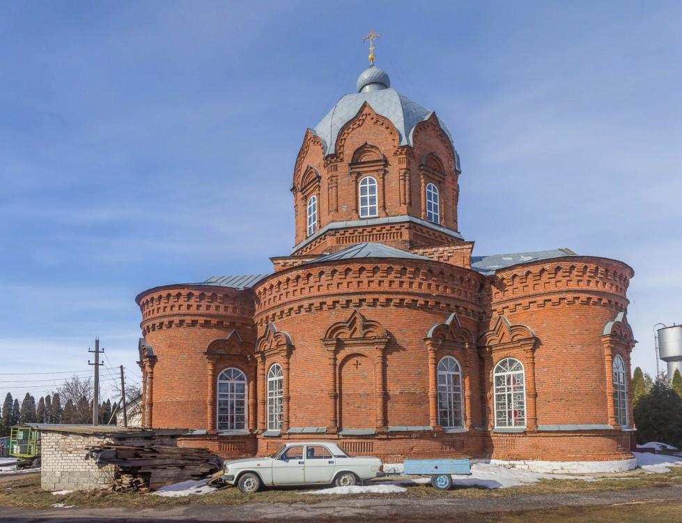 Липецкая область, Добровский район, Гудово. Церковь Параскевы Пятницы, фотография. фасады