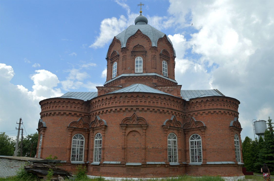Липецкая область, Добровский район, Гудово. Церковь Параскевы Пятницы, фотография.