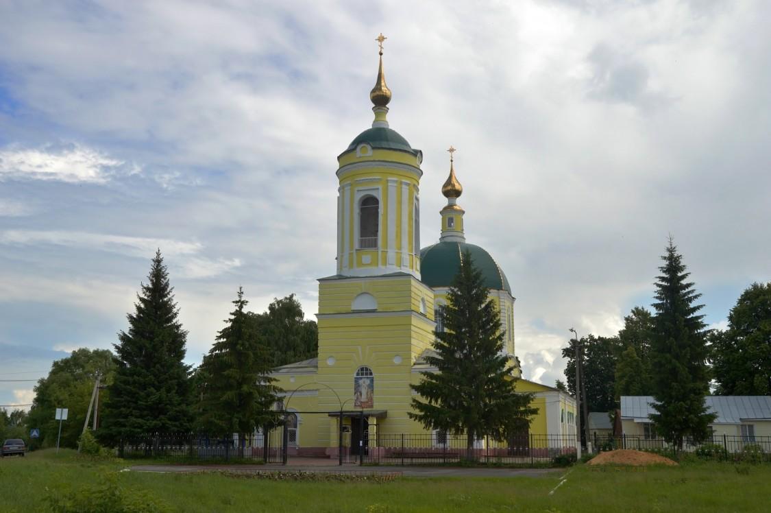 Липецкая область, Чаплыгинский район, Кривополянье. Церковь Михаила Архангела, фотография.