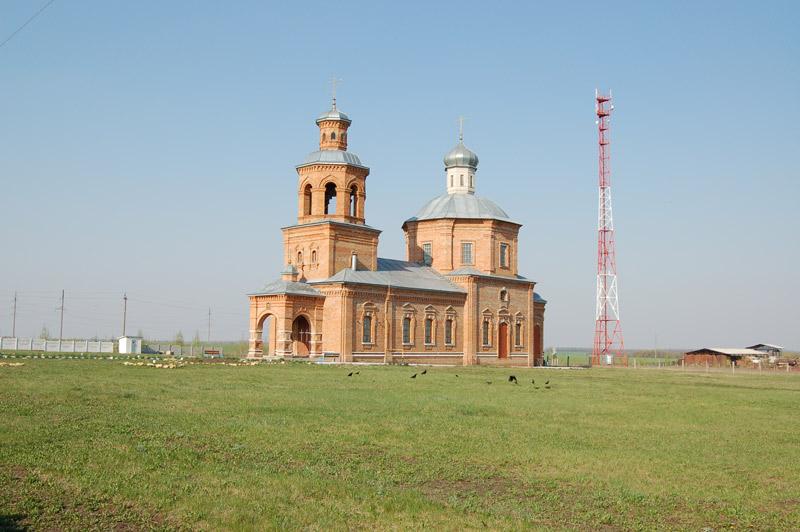 Орловская область, Колпнянский район, Колпны. Церковь Петра и Павла, фотография. фасады
