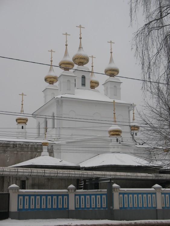 Ивановская область, Иваново, город, Иваново. Успенский мужской монастырь, фотография. общий вид в ландшафте