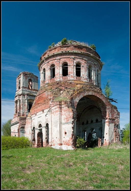 Церковь Спаса Преображения, Горицы