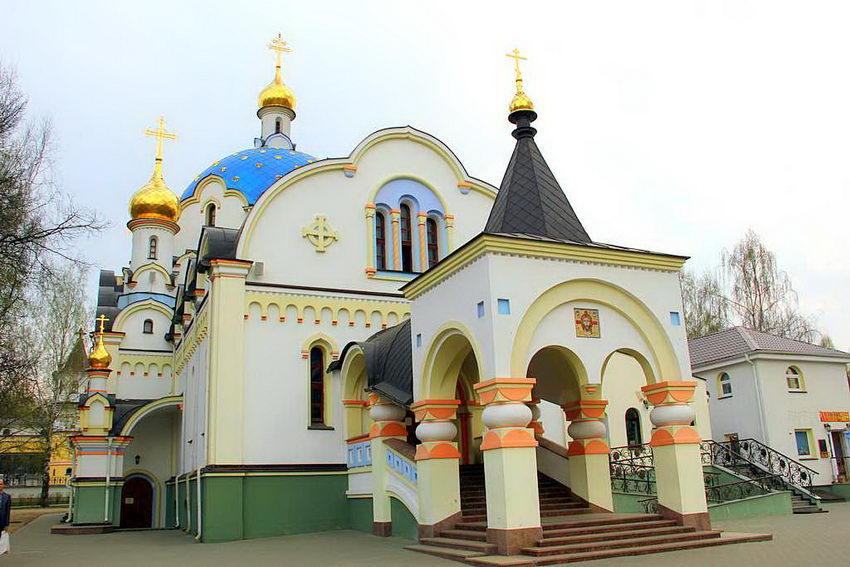 Елизаветинский женский монастырь. Церковь Державной иконы Божией Матери, Минск