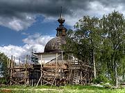 Церковь Александра Ошевенского - Кречетово (Погост) - Каргопольский район - Архангельская область