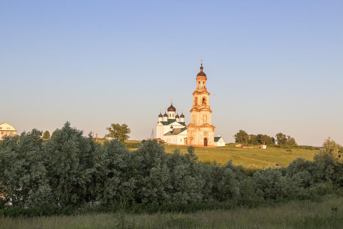 Нижегородская область, Ардатовский район, Нуча. Церковь Спаса Всемилостивого, фотография. фасады