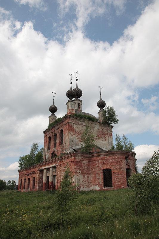Церковь Николая Чудотворца, Чуфарово