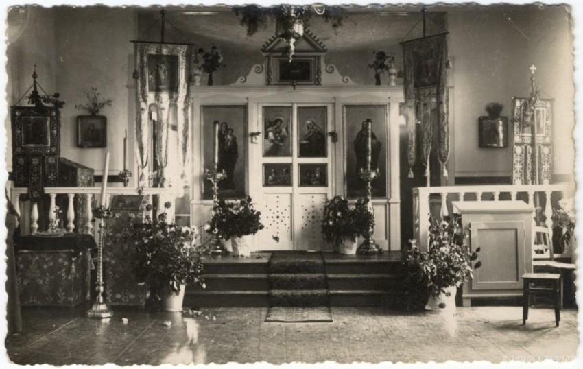 Латвия, Дундагский край, Колка. Церковь Рождества Христова, фотография. архивная фотография, Фото с сайта http://www.zudusilatvija.lv/
