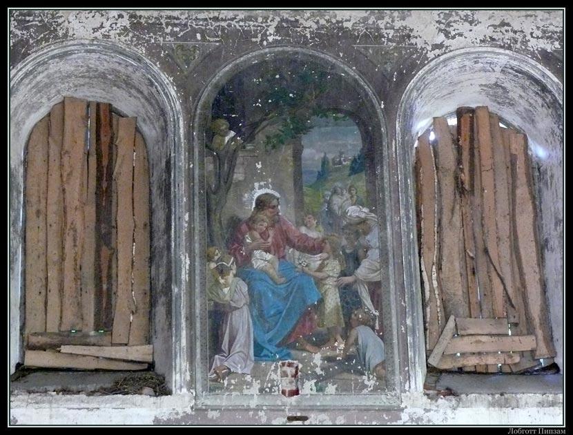 Рязанская область, Ряжский район, Нагорное. Церковь Константина и Елены, фотография. интерьер и убранство