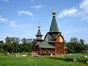 Церковь Всех Святых в Казачьем сквере - Омск - Омск, город - Омская область