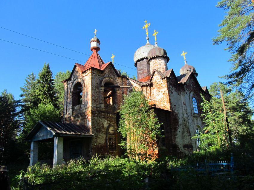 Кировская область, Подосиновский район, Шолга. Церковь иконы Божией Матери