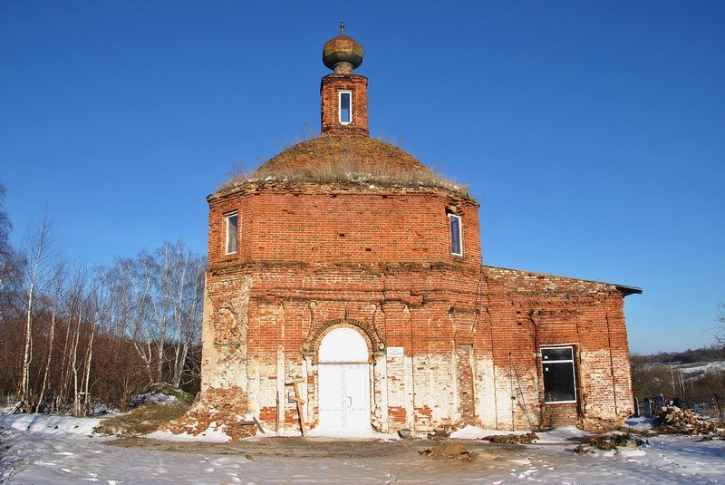 Церковь Покрова Пресвятой Богородицы, Богучарово