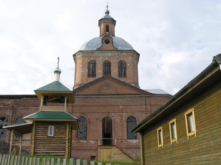 Церковь Введения во храм Пресвятой Богородицы в Верхокобрском, Кобра