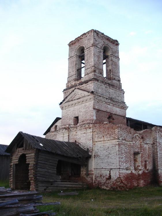 Церковь Прокопия Устюжского, Пезмег