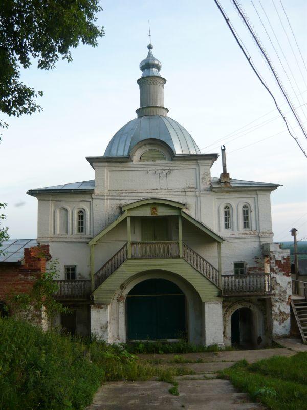 Ульяновский Троице-Стефанов монастырь. Церковь Михаила Архангела, Ульяново