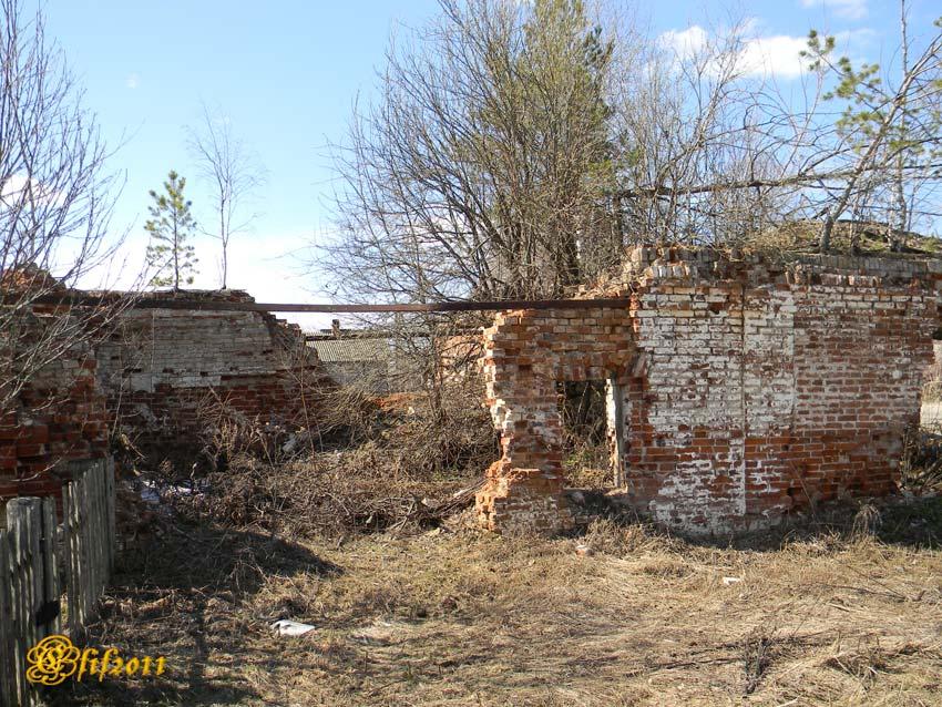 Ивановская область, Пестяковский район, Нижний Ландех. Неизвестная часовня, фотография. фасады