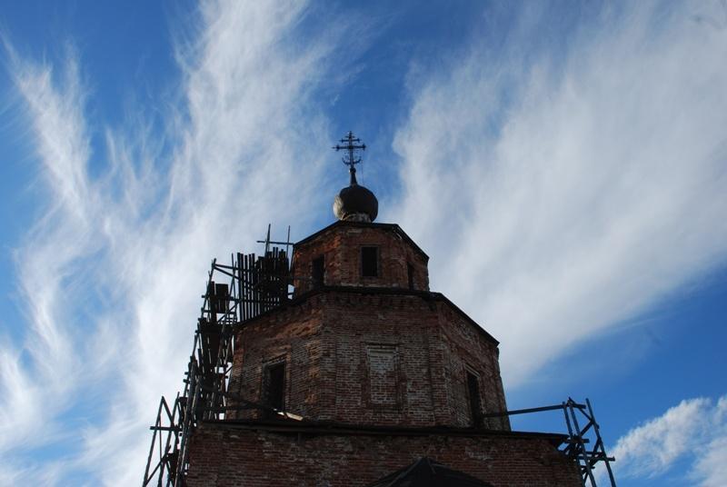 Церковь Спаса Нерукотворного Образа, Семово
