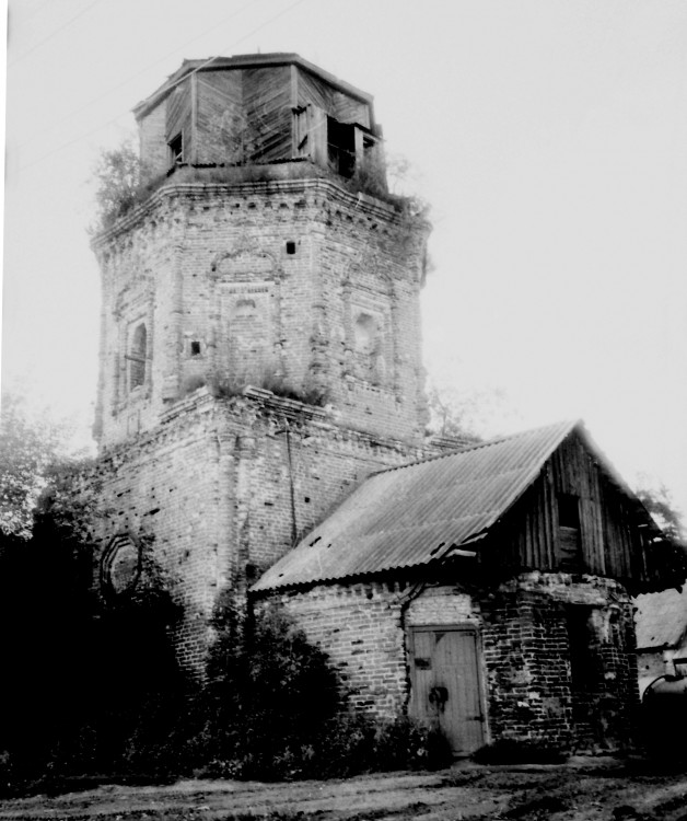 Церковь Богоявления Господня, Костино