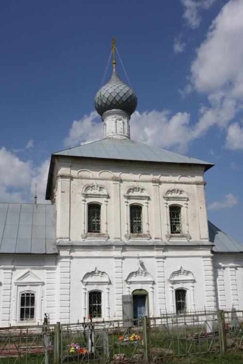 Церковь Троицы Живоначальной, Унимерь