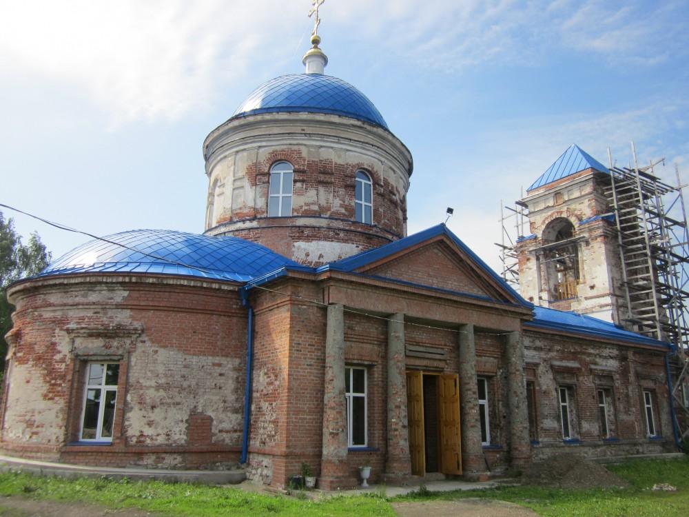Церковь Тихвинской иконы Божией Матери, Козьмодемьянск
