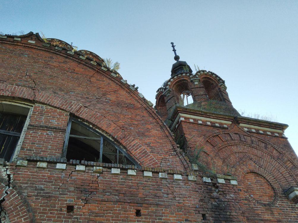 Рязанская область, Ермишинский район, Богоявление, урочище. Церковь Богоявления Господня, фотография.