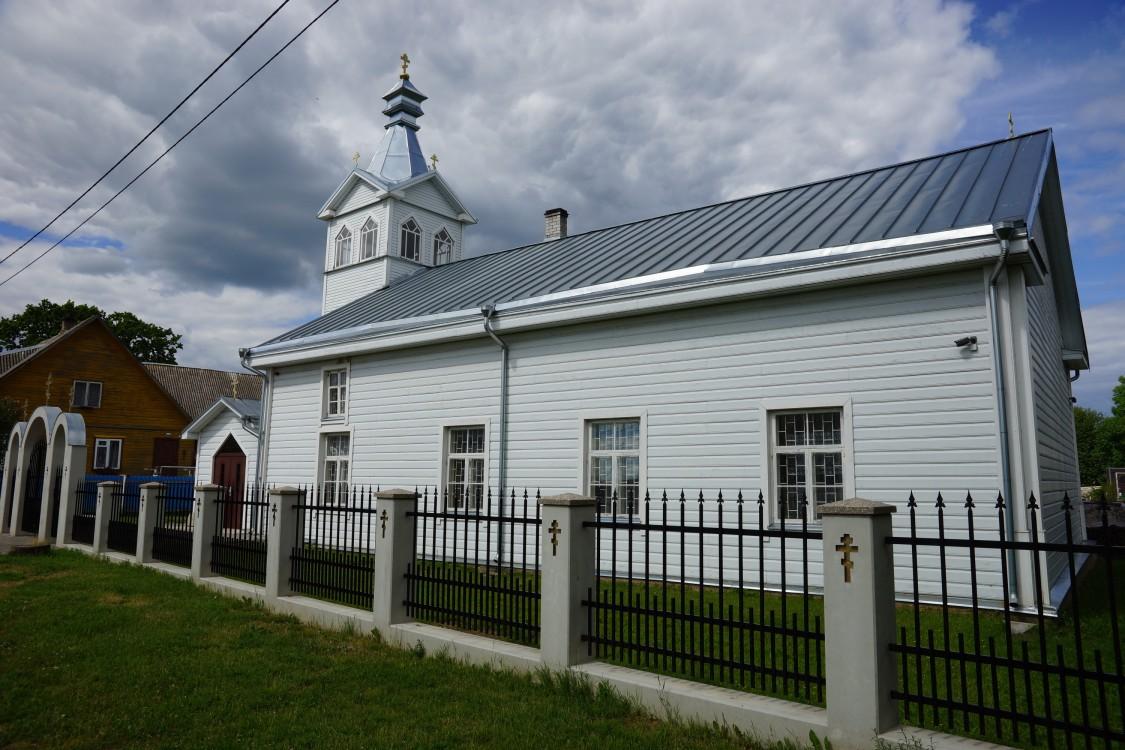 Эстония, Тартумаа, Калласте (Kallaste). Моленная Успения Пресвятой Богородицы, фотография. фасады