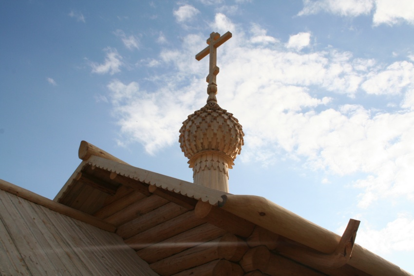 Спасо-Евфимиев Сямженский монастырь. Церковь Евфимия и Харитона Сямженских, Поповка, урочище