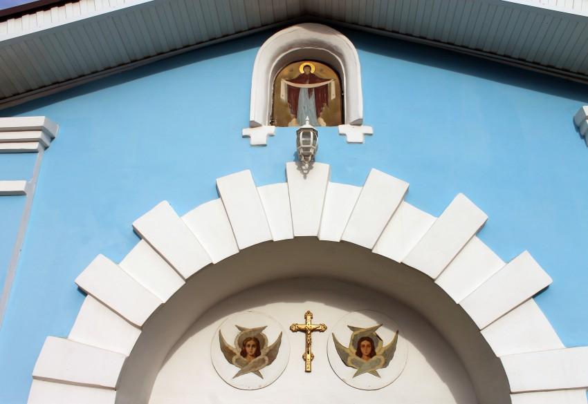 Белгородская область, Белгород, город, Белгород. Марфо-Мариинский монастырь. Церковь Покрова Пресвятой Богородицы, фотография. архитектурные детали