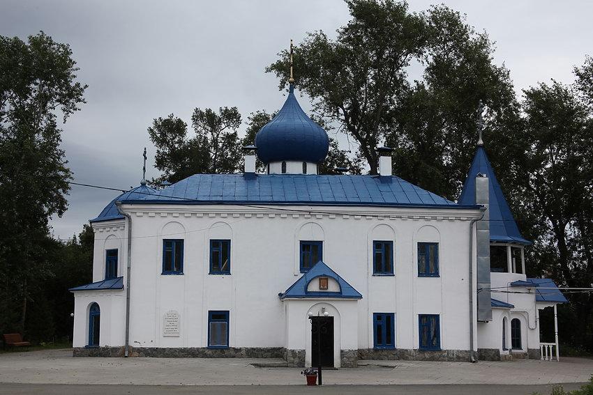 Фото парка одигитриевского монастыря челябинск