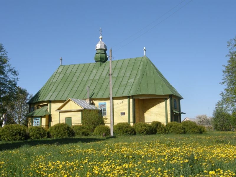 Церковь Петра и Павла, Большие Жуховичи