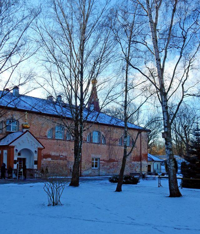 Беларусь, Брестская область, Брест, город, Брест. Рождество-Богородицкий монастырь, фотография. архитектурные детали