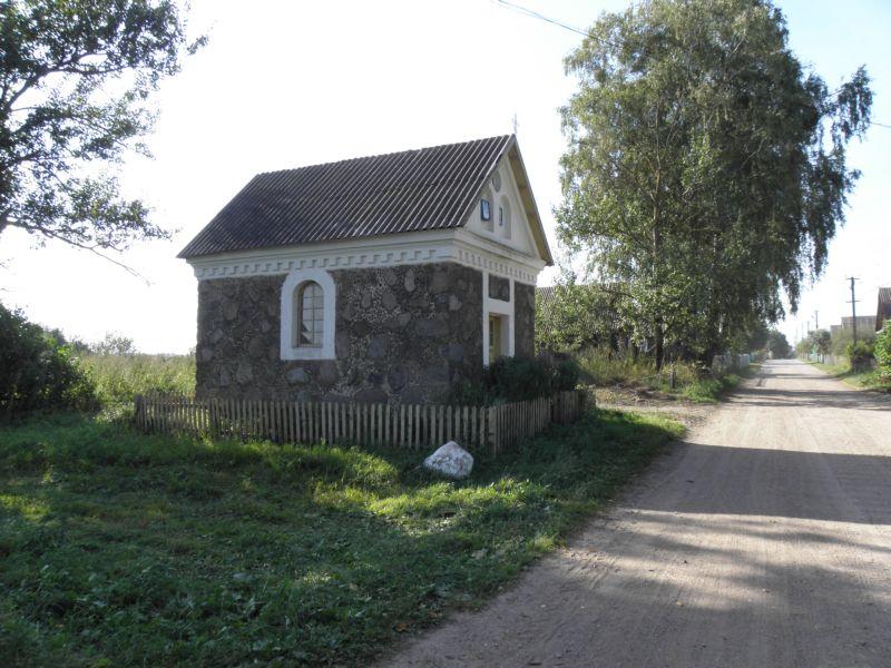 Неизвестная часовня, Малая Обрина