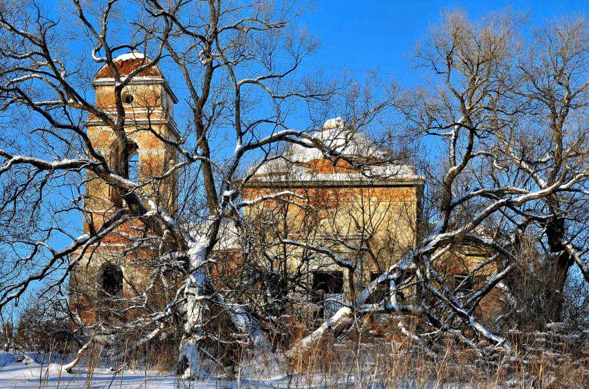 Смоленская область, Гагаринский район, Колокольня. Церковь Введения во храм Пресвятой Богородицы, фотография. фасады