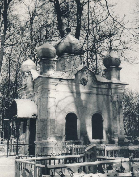 Часовня Николая Чудотворца(?), Рязань