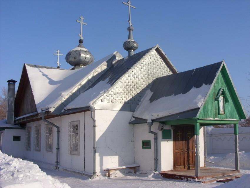 Иоанно-Предтеченский монастырь. Церковь Иоанна Предтечи, Новосибирск