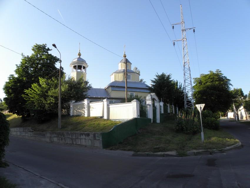 Беларусь, Гомельская область, Гомель, город, Гомель. Церковь Илии Пророка, фотография. общий вид в ландшафте