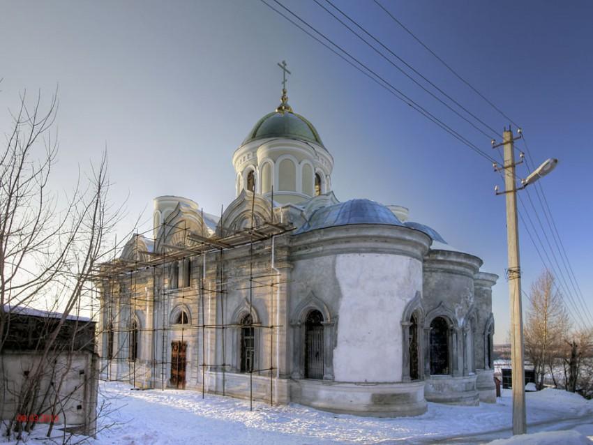 Никитский Каширский монастырь. Собор Спаса Преображения-Кашира-Каширский городской округ-Московская область