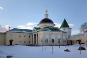 Луговой. Николо-Пешношский монастырь. Церковь Димитрия, митрополита Ростовского, в больничном корпусе