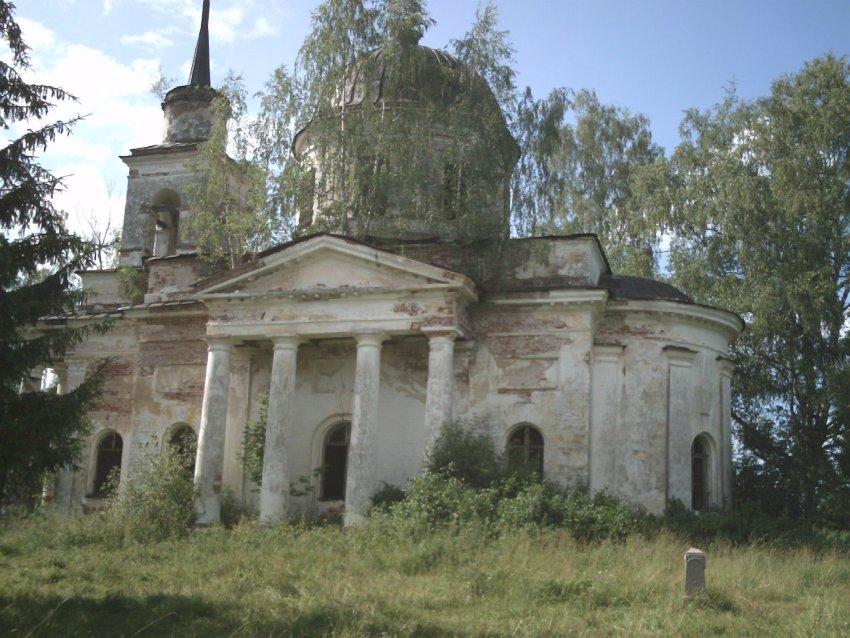 Церковь Спаса Нерукотворного Образа, Дубровка