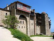 Афон (Ἀθως). Иверский монастырь на горе Афон
