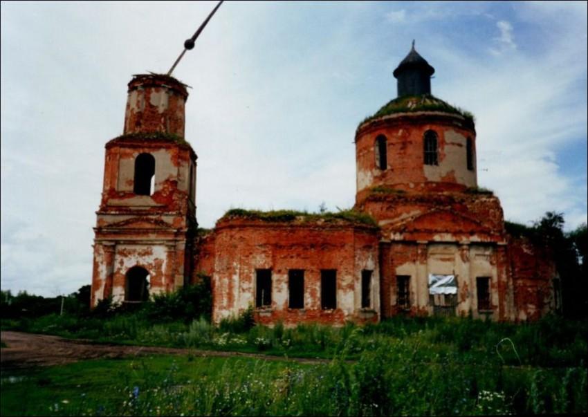 Церковь Казанской иконы Божией Матери, Губино