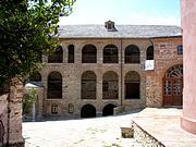 Монастырь Пантократор - Афон (Ἀθως) - Айон-Орос (Άγιον Όρος) - Греция