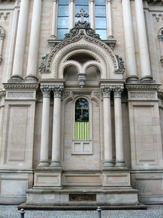 Прочие страны, Германия, Висбаден. Церковь Елисаветы, фотография. фасады, Алтарная часть храма