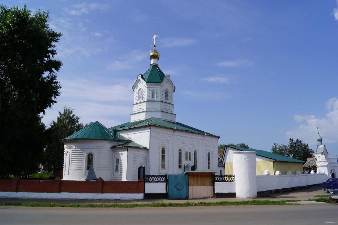 Республика Башкортостан, Дуванский район, Месягутово. Пророко-Ильинский мужской монастырь, фотография. фасады