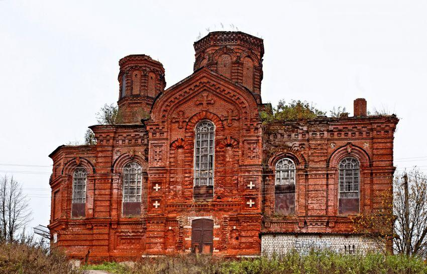 Никольский женский монастырь. Церковь Спаса Нерукотворного Образа, Лежнево