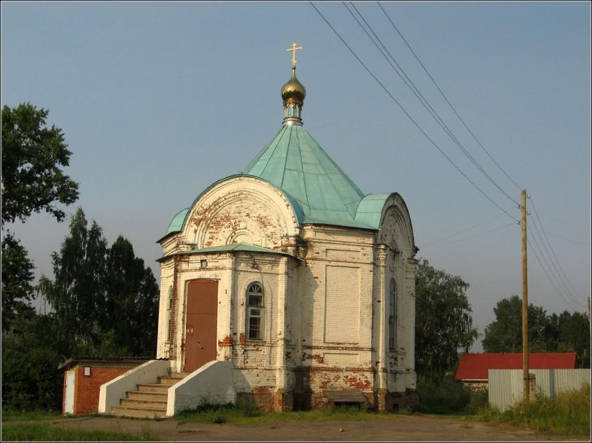 Никольский женский монастырь. Церковь Николая Чудотворца, Лежнево