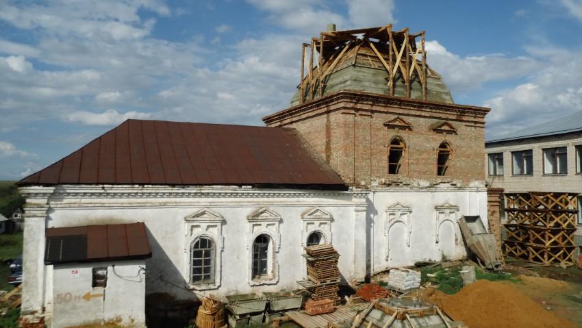 Спасо-Зеленогорский женский монастырь. Церковь Казанской иконы Божией Матери, Зелёные Горы