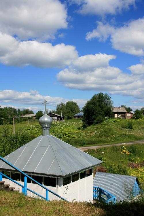 Михаило-Архангельский мужской монастырь, Усть-Вымь