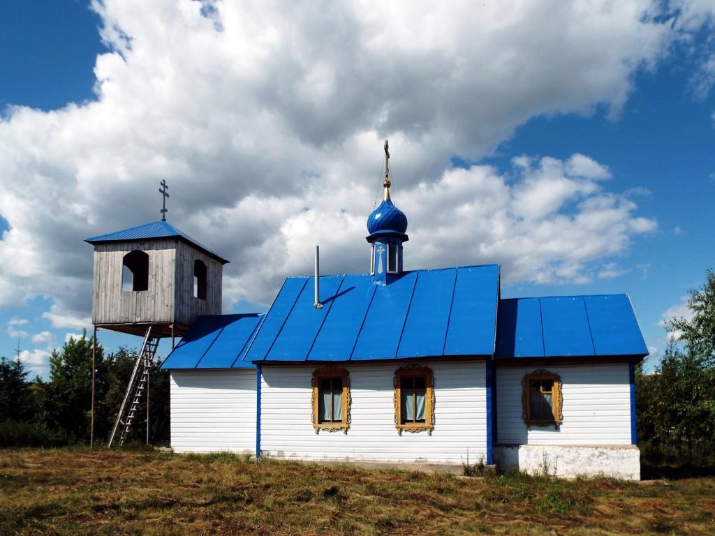 Республика Татарстан, Бавлинский район, Алексеевка. Церковь Николая Чудотворца, фотография. фасады