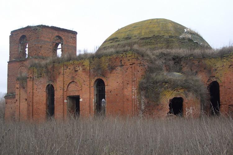 Церковь Покрова Пресвятой Богородицы, Александровка, урочище